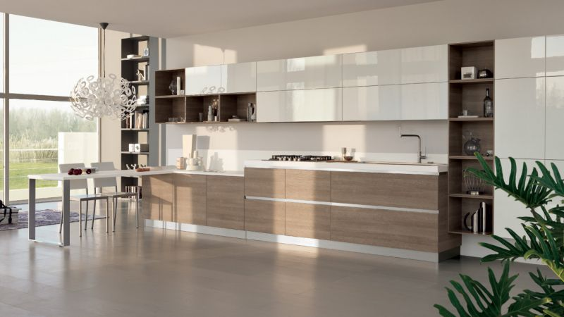 Beautiful Cucina Flux Scavolini Prezzo Ideas - Schneefreunde.com ...
